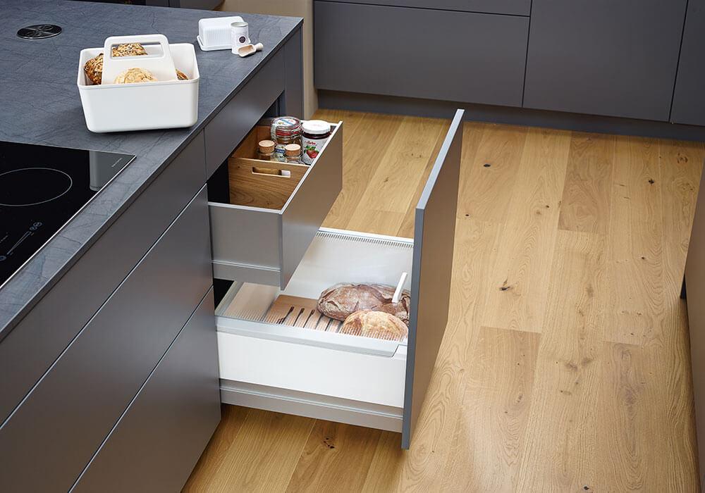 Bild zeigt modernen Küchenauszug