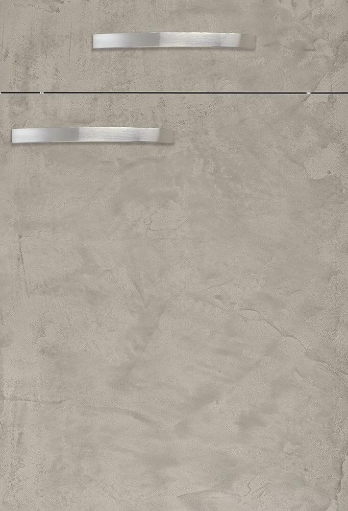 Abbildung: Front BONITA Beton grau