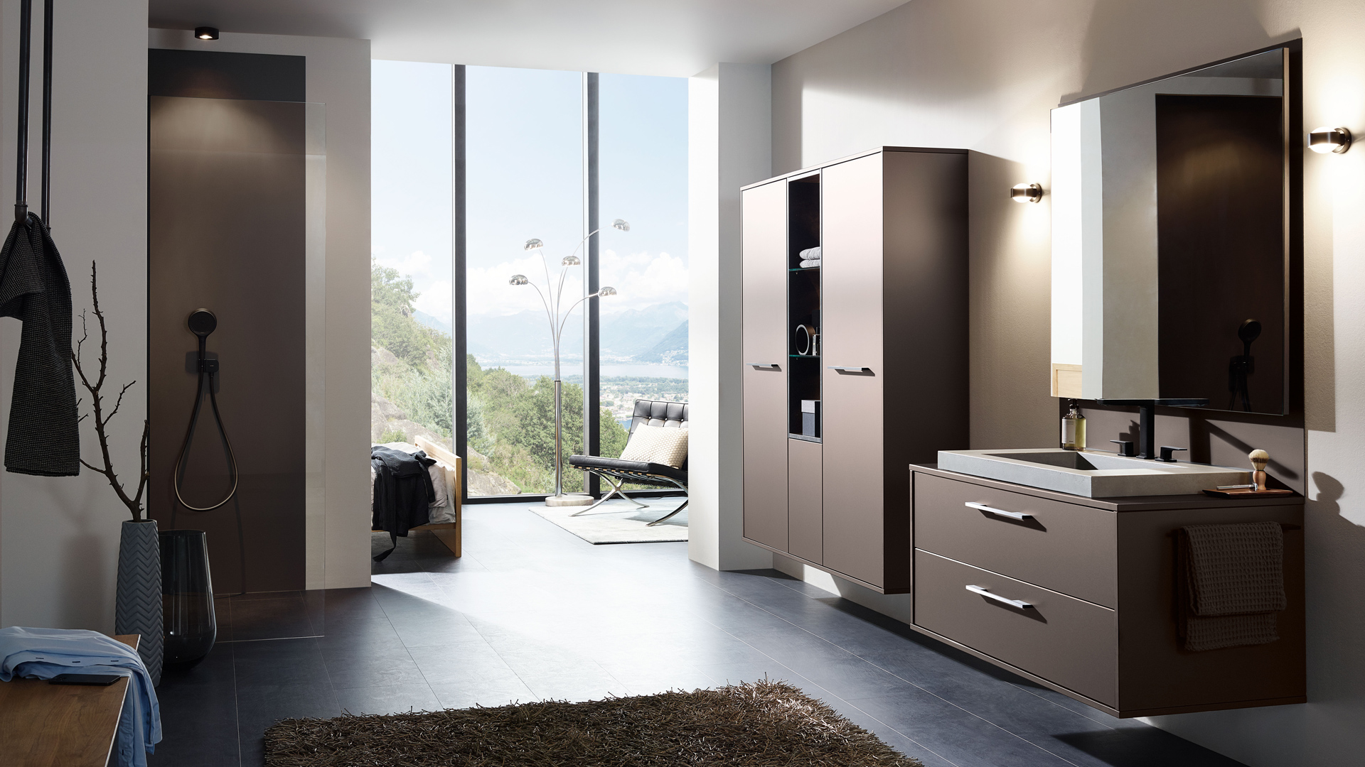 Badauswahl: Bild zeigt ein elegantes Badezimmer