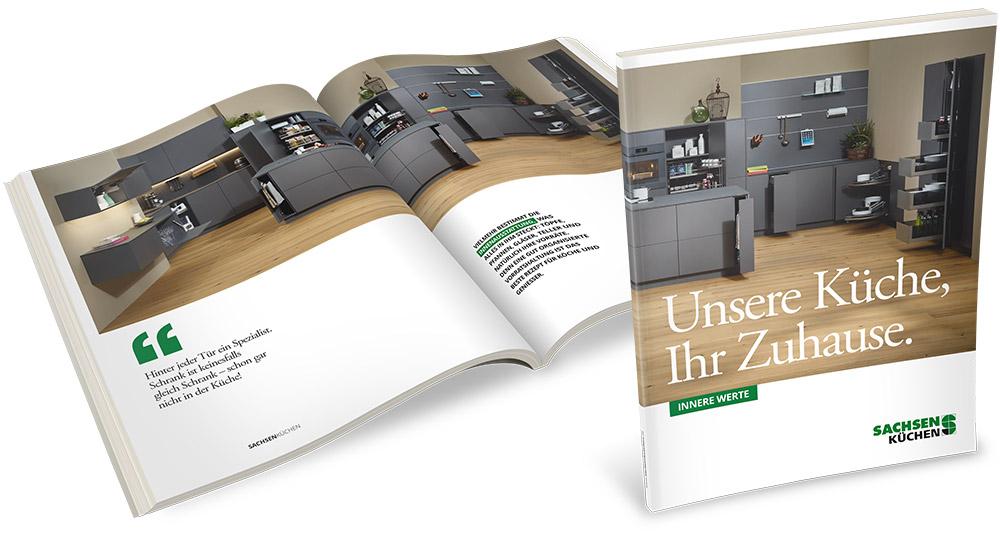 Sachsenküchen Broschüre Innere Werte