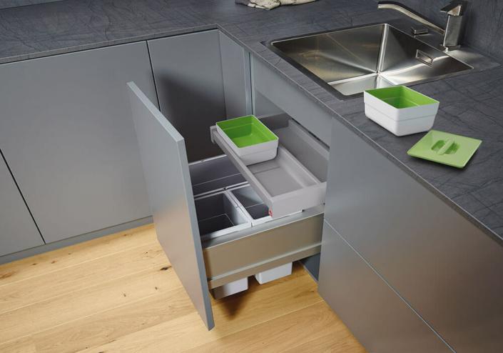 Bild zeigt modernes Müllkonzept