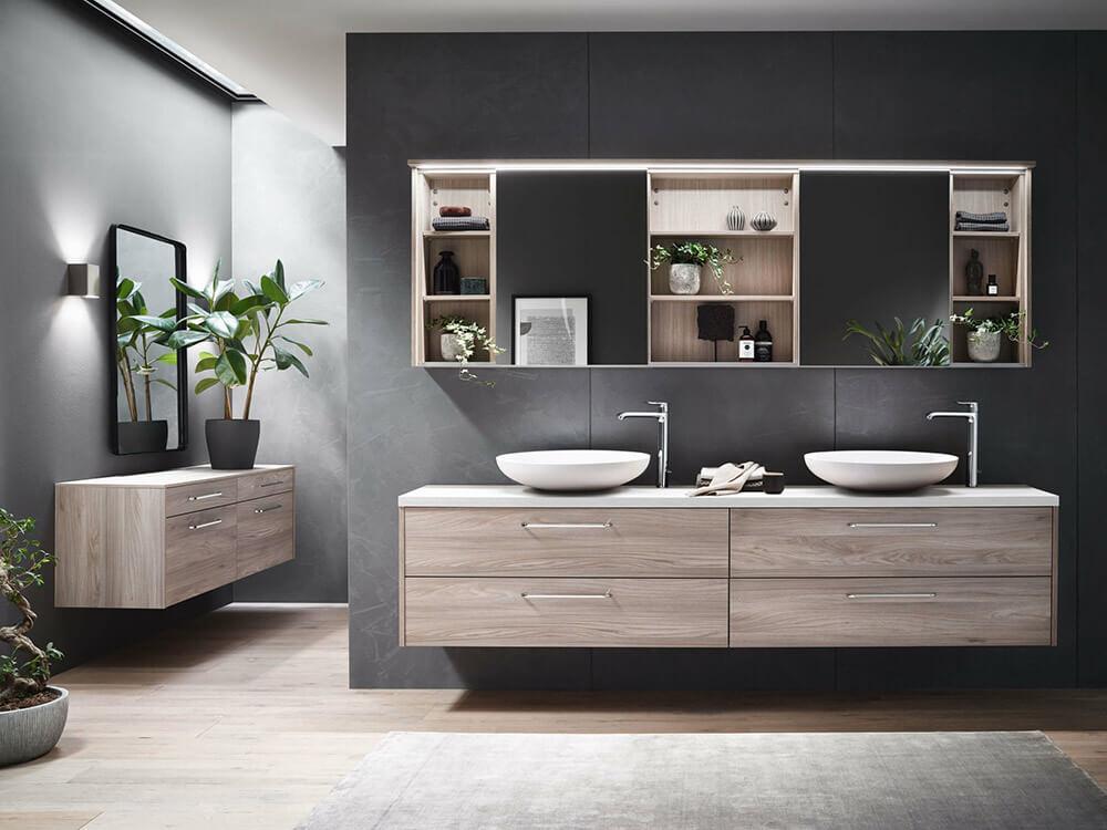 Sachsenküchen: Bild zeigt elegantes Badezimmer