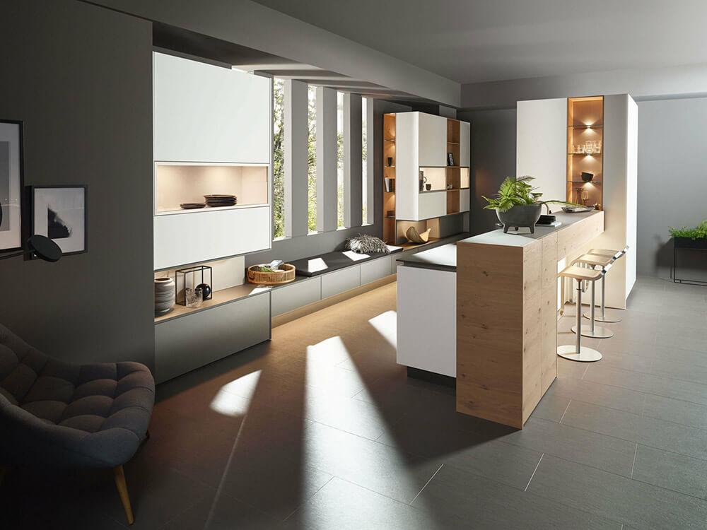 Home Sachsenküchen: Bild zeigt moderne Küche